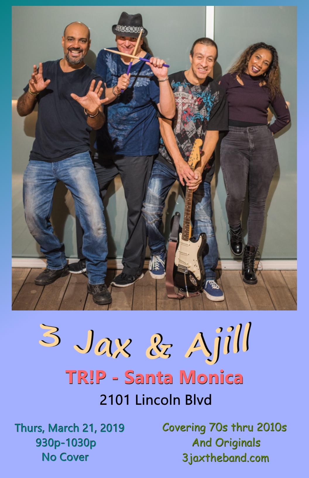 3Jax 3-21-19 Poster